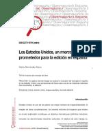 Los Estados Unidos, un mercado prometedor para la edición en español