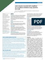 Canaglifozin vs Non-glifozin e CV Outcomes BMJ