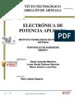 Portafolio Unidad 1 Electronica de Potencia