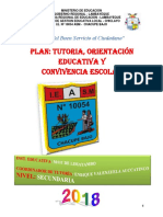 Plan Tutoria 2017 Ie 10054