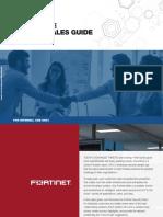Fortinet Enterprise Partner Sales Guide