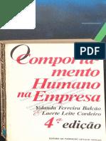 Compotamento Humano Na Empresa