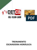 CETCB - Escavadeira 01