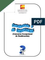 SIMULACRO  40 CASOS