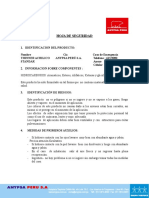 Msds Thinner Acrilico Standar[1]