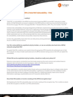 WPA 2 Hole196 Vulnerability – FAQs