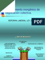 Reforma Procedimiento Laboral Ley 20.940