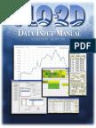 Data Input Manual v2009