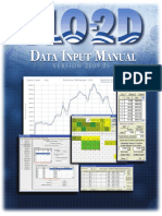 Data Input Manual v2009