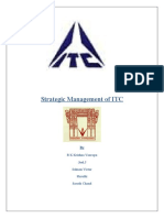 ITC Strategic Management