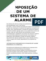 Apostila Composição de Um Sistema de Alarme