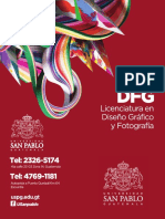 Pensum Licenciatura en Diseño Gráfico y Fotografía