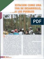 La Reforestacion Como Una Alternativa de Desarrollo  para Los Pueblos Amazónicos