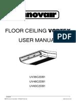 Innovair UV Vortex Floor Ceiling User Manual English