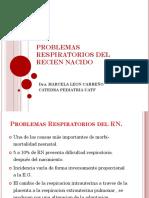Dificultad Respiratoria Neonatal