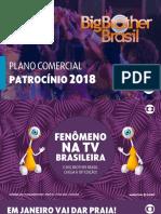 BBB18 - Plano comercial