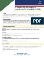 Prefabricated Bridge Specifications-AASHTO