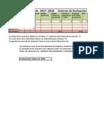 Sistema de Evaluación 2017-2018