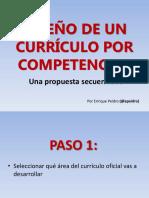 Diseño de un currículo por competencias