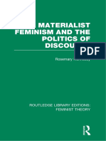 MATERIALIST Feminism and Politiques of Discourse