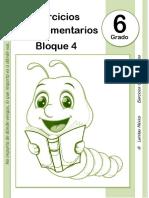 6to Grado - Bloque 4 - Ejercicios Complementarios.pdf