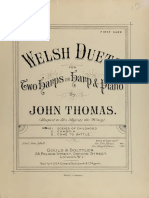 John Thomas-Welsh Duets- For Two Harps or Harp & Piano