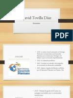 David Tovilla Díaz Efemérides