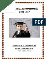 2017 - Capacitação Matemática - Alfabetização Matemática