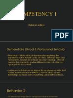 competencies 1-9