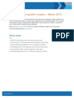 Matlab 2017a Supported Compiler