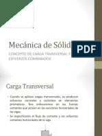 Concepto de Carga Transversal y Esfuerzos Combinados (1)