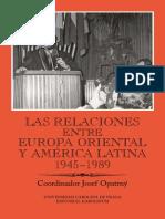 Las Relaciones Entre Europa Oriental y America Latina 1945 1989 Auto Preview