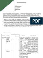modelo Planificación Anual de Educación Física ruth
