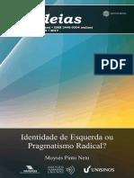 259cadernosihuideias_Ident. de Esq. e Pragmatismo Radical_moyses Pinto Neto