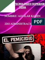 El Femicidio Diapositivas