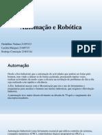 Automação e Robótica