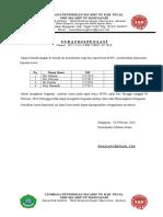 Surat Dispensasi Pramuka 2017