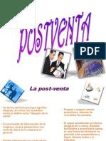 La Post Venta Lic. Sergio Carrillo