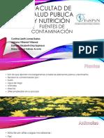Ev. 3 Fuentes de Contaminacion