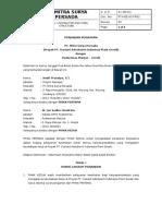 PT HSE 04 FR02 04 Puskesmas Perjanjian
