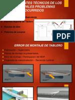 Antecedentes Técnicos de Fallas Ocurridas Puente Cau Cau