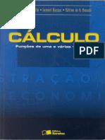 Cálculo. Funções de uma e várias variáveis - Bussab, Wilton De Oliveira; Hazzan, Samuel; Morettin, Pedro Alberto