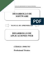 8790017074 Desarrollo de Aplicaciones Web (Desarrollo)