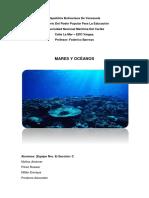 Mares y Océaos