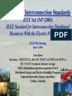IEEE InterconnectionStandards2004