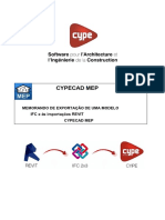 Protocole d'Exportation Et de Modification d'Une Maquette Ifc Depuis Revit Et Importation Dans Cypecad Mep.fr.Pt