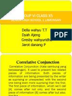 Group Vi Class x5 TOEFL