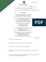 Guía de Trabajo 8º Marzo Unidad 0