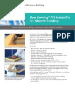 Dow Corning 776 InstantFix WB Summary Brochure 1406290