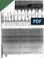 Metodología de las Ciencias Humanas